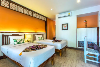 Superior accommodation Sukhothai Hotels