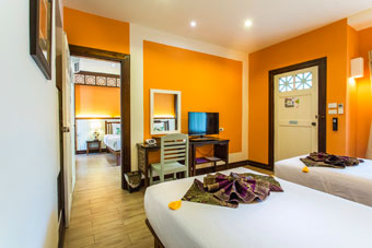 Superior accommodations Sukhothai Hotels